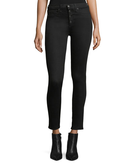 Image 1 of 1: Debbie High-Rise Skinny Jeans