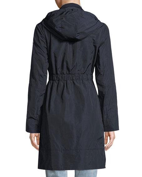 Disthelon Mid-Length Hooded Jacket