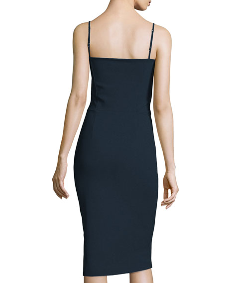Custom Collection: Dionella Spaghetti Strap Sweetheart Cocktail Dress