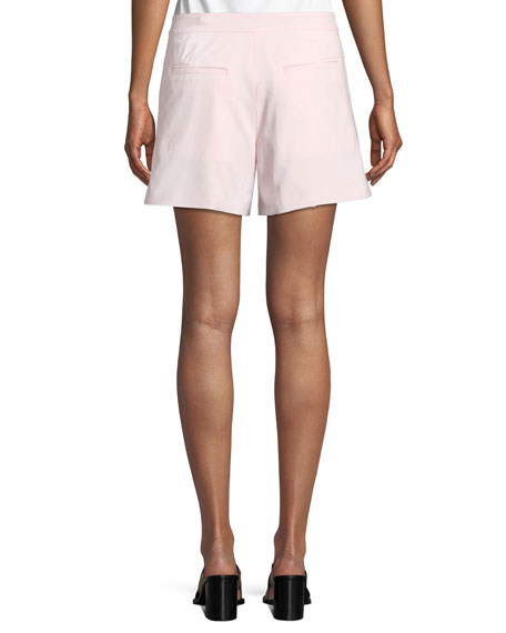Sage Tailored Wool-Stretch Shorts