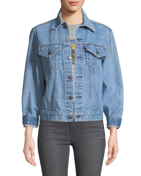 Abbey Vintage One-of-a-Kind Denim Jacket