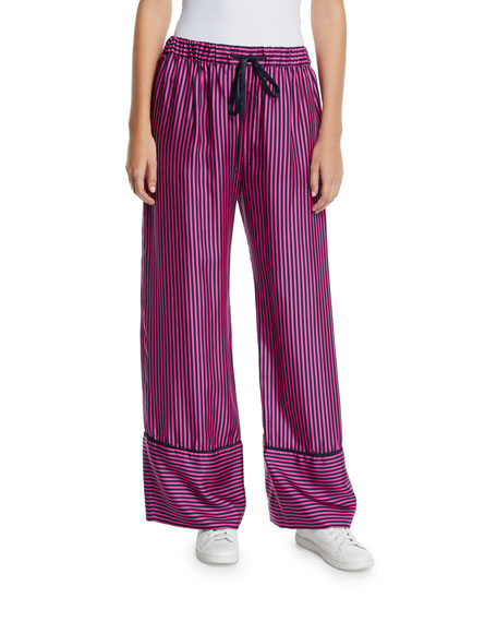 Sing Me To Sleep Striped Pajama Pants