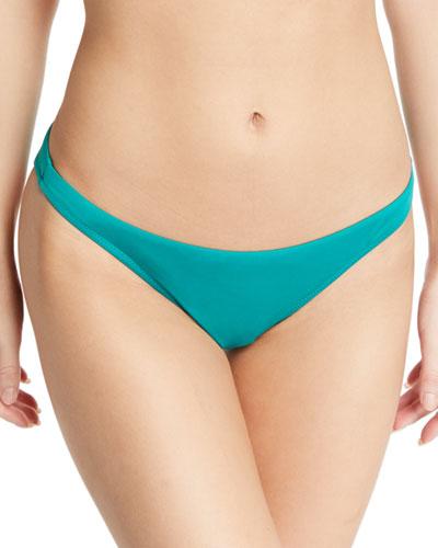 St. Lucia Solid Swim Bikini Bottoms