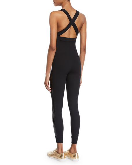 Laiki Cross-Back Active Jumpsuit