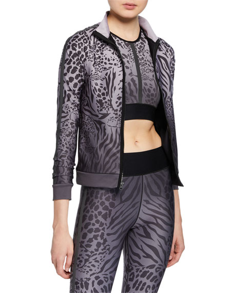 Image 1 of 1: Atomic Panthera Print Jacket