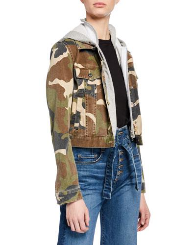 Cara Jean Jacket w/ Removable Hoodie