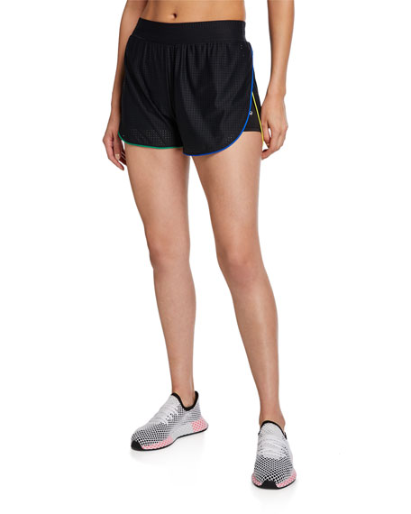 Image 1 of 1: Pinhole Mesh Active Shorts
