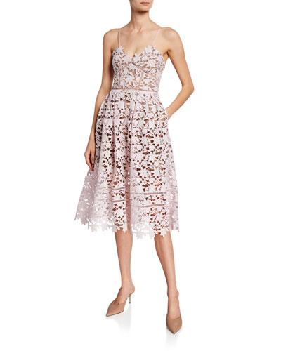 Azalea Sleeveless Lace Dress
