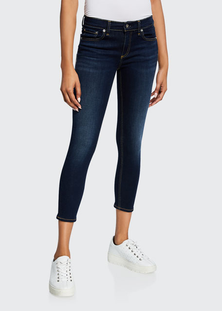 Image 1 of 1: Cate Mid-Rise Ankle Skinny Jeans