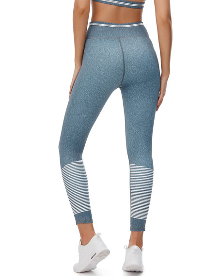 Camilla Speckled High-Rise Leggings