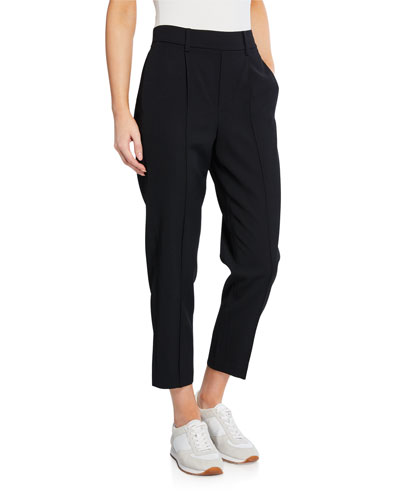 Easy Pull-On Crop Pants