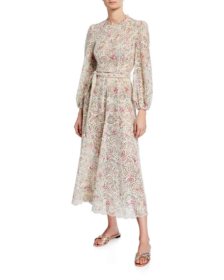Image 1 of 1: Honour High-Neck Maxi Dress