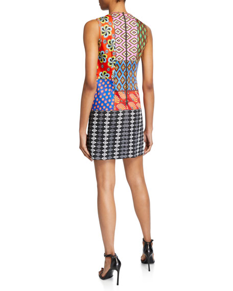 AO x CARLA Clyde Embroidered A-Line Shift Dress