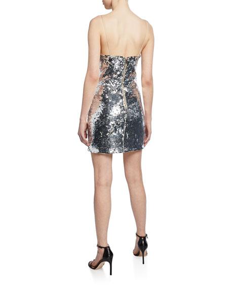 Sequin Mini Cocktail Dress