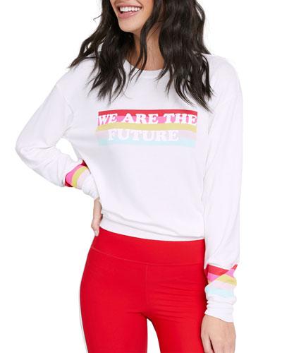 Savasana We Are The Future Crewneck Sweatshirt