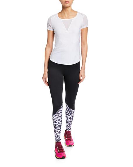 Jen High-Waist Paneled Leggings