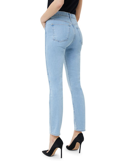 W3 High-Rise Authentic Straight-Leg Jeans