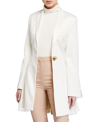 Falling For You Single-Button Jacket