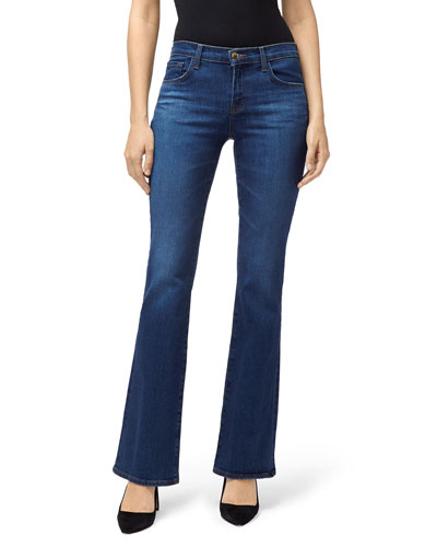 85ce757874a61 Sallie Mid-Rise Boot-Cut Jeans Quick Look. J Brand