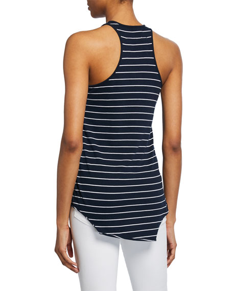 Base Layer Scoop-Neck Cotton Essential Jersey Tank