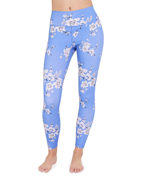 Perfect Floral-Print Legging