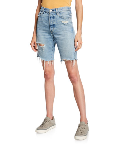 Loverboy Long Cutoff Shorts