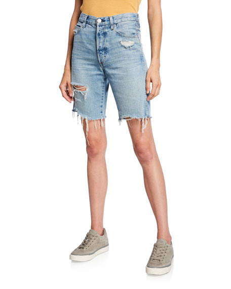Loverboy Long Cutoff Shorts