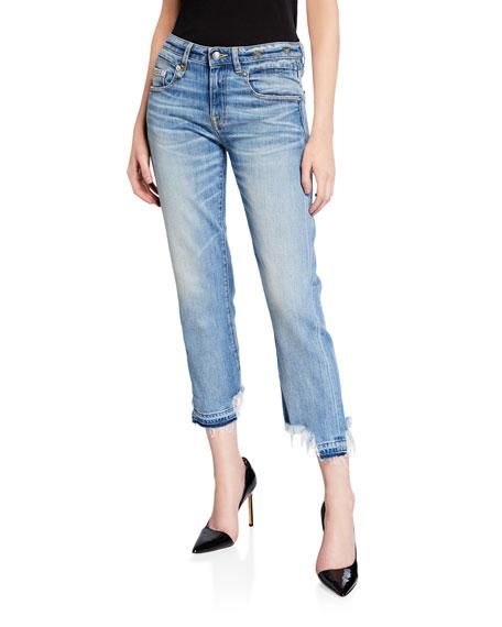 Boy Straight-Leg Cropped Jeans
