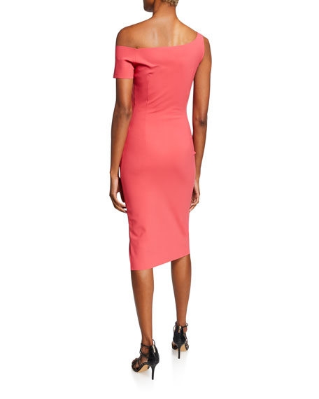Affie One-Shoulder Asymmetric Cocktail Dress