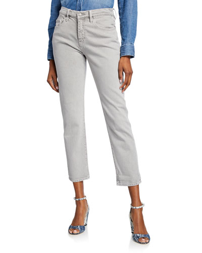 Jessi Relaxed Cropped Boyfriend Jeans