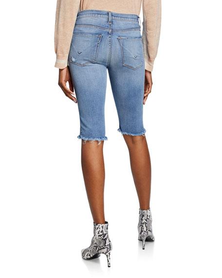 Amelia Knee-Length Denim Shorts