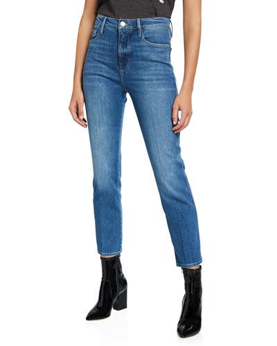 Le Sylvie Cropped Denim Jeans