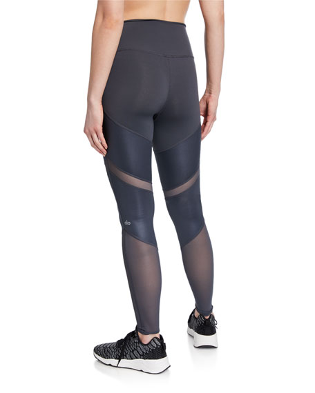 Sheila High-Waist Mesh Leggings