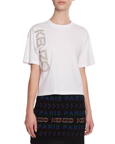 Logo Sport Boxy Short-Sleeve T-Shirt