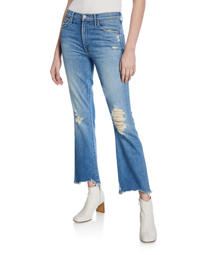 The Insider Ankle Chew Straight Jeans