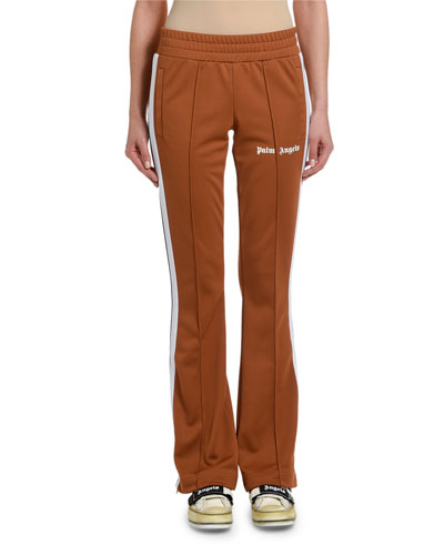 Side-Stripe Skinny Logo Track Pants