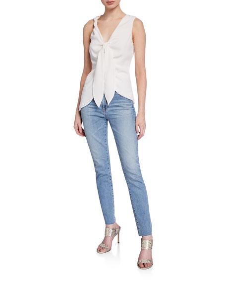 Mari High-Rise Straight-Leg Jeans