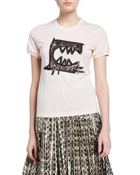 Embellished Rexy by Guang Yu T-Shirt