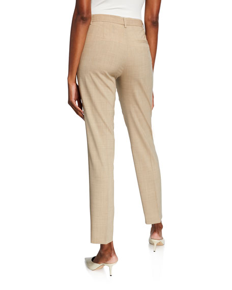 Travel Wool Tailored Trousers