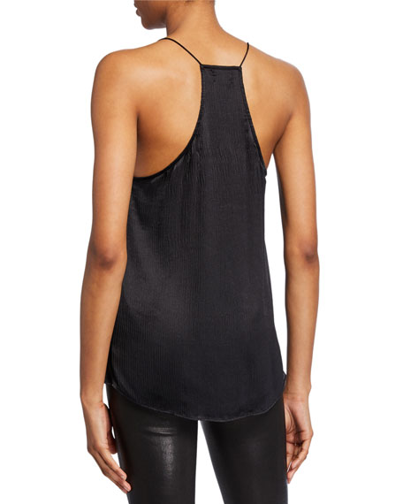 The Racer Crinkle Camisole