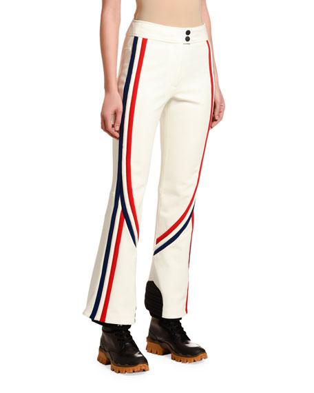 Tricolor-Trim Sport Trousers
