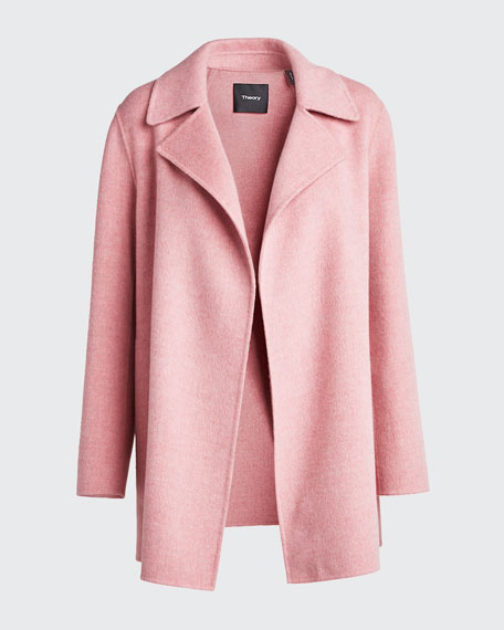 New Divide Wool/Cashmere Coat