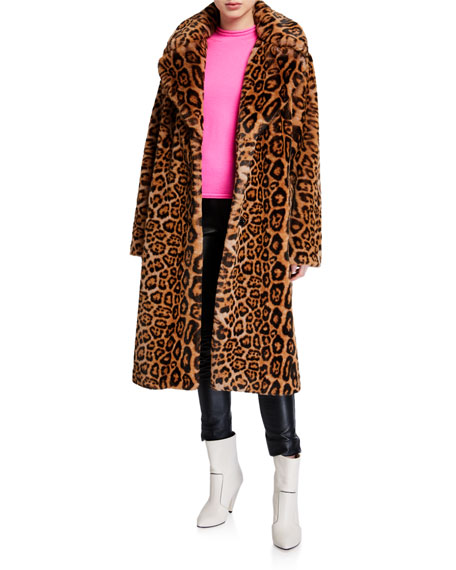 Fanny Leopard Print Coat by Stand