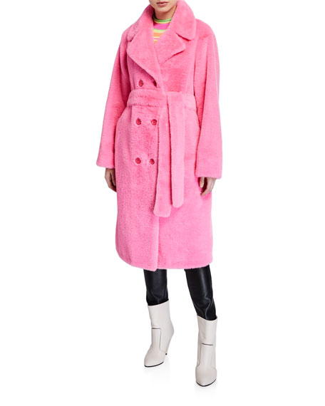Faustine Double-Breasted Coat