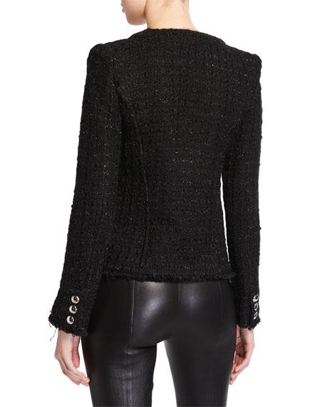 Tetys Boxy Tweed Jacket
