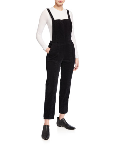 Isabelle Pleated Overalls
