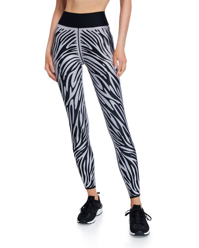 Ultra High Zebra-Print Leggings