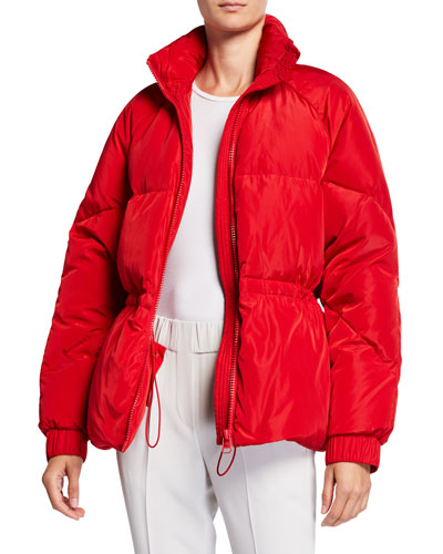 Down-Fill Tech Puffer Jacket