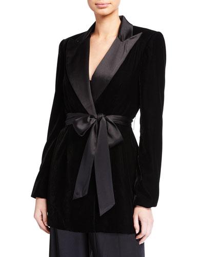 Velvet Tux Jacket