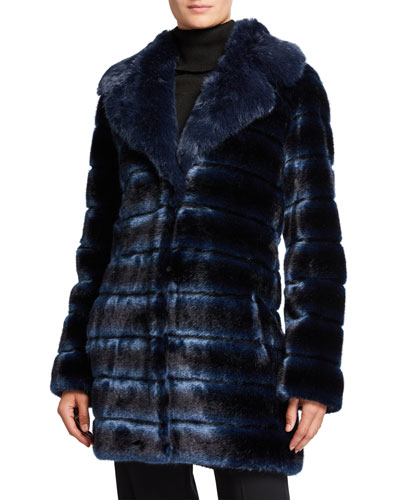 Swagger Faux-Fur Coat